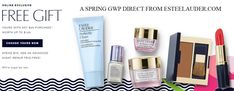 Free Estee Lauder gift when you spend $45. Choose yours online on EsteeLauder.com website.