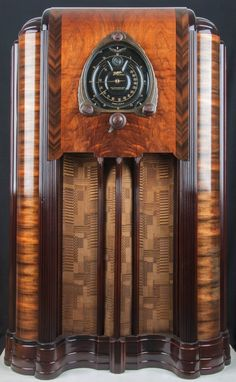 1938 Zenith 12s-267 Wood Console Vacuum Tube Radio- Fully RESTORED!!   eBay