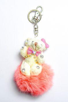 Doll Key Chain DKC01 Pink Rp 60.000
