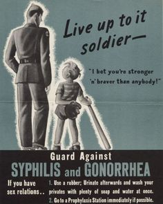 'She may look clean, but...' 1940s anti-STD posters warn soldiers of the 'booby…