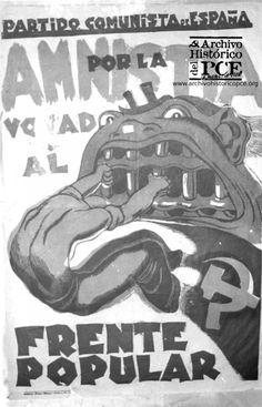 Cartel electoral 1936