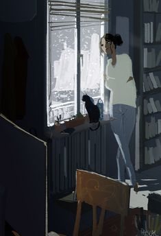 Snowstorm by Pascal Campion