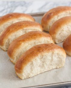 Homemade Hot Dog Buns ~ Perfect for not only hotdogs but also for lobster rolls (don't forget to grill the sides!)