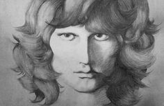Jim Morrison by Paige Marie Lindner @petitesongbird #jimmorrison #thedoors