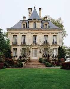 Pinault's private residence at Latour was built in the 19th century.
