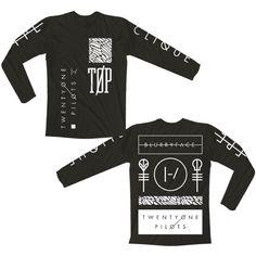 Emblem Long Sleeve Shirt | Official Twenty One Pilots Store