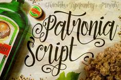 Patronia Script is a brush-lettering inspired script typeface that combined thick and thin lines, loose and tight kerning and unique baseline combinations for genuine hand-writing feels. Suits best for almost all of your designing project; wedding invitation, t-shirt design, fancy logotype, etc. This typeface is packed with +300 glyphs (OpenType Features included).