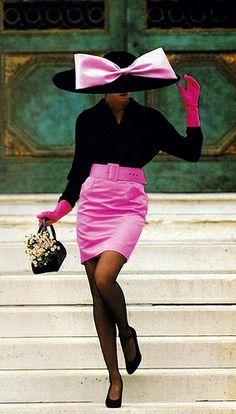 Gilles Bensimon for Elle magazine November 1987