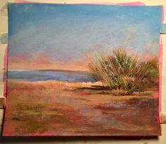 Warm Dune by Sandi Graham Pastels