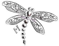 Dragonfly Tattoo Design By Denise A Wells Flickr Photo Sharing