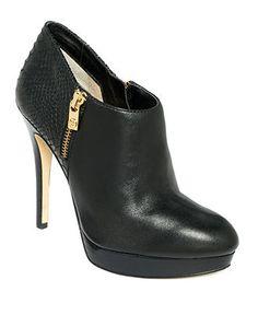 MICHAEL Michael Kors Shoes, York Ankle Boots - Boots - Shoes - Macy's WANT!!