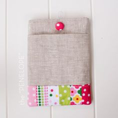 4 patterns and measurements for ipad, nook and kindle sleeve sewing tutorial with front pocket
