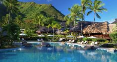 Hilton Moorea Lagoon Resort And Spa - Outdoor Pool