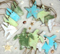 50 spiaggia a tema decorativo in legno tag tag di TheSavvyShopper1