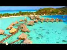 """A boutique, cosy polynesian 5***** resort loacted on Matira Point on the main island of Bora Bora. This is where Canoe Breakfast and Glass bottom boats where invented. Elected best Resort """"to make babies""""..."""