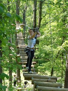 A New Forest Adventure Park Is Open In Massachusetts
