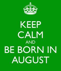I love my August Baby!  @Lexi McCreary