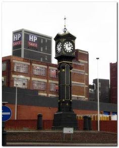 H P sauce factory in Aston Birmingham