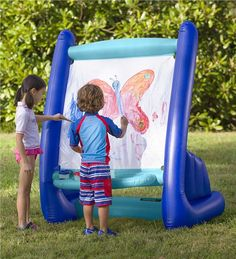 Main image for Inflatable Easel with Paints