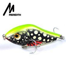 Meredith Fishing Rattlesnake Lures 1pcs 20g 7.5cm VIB Lures Fishing Vibration For All Water Levels Wobblers Hooks Carp Fishing