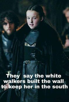 Game Of Thrones Memes 2019 - 39 Great Pics And Memes to Improve Your Mood - Funny Gallery - Hintergrundbilder Art Game Of Thrones Witze, Game Of Thrones Funny, Lady Mormont, Lyanna Mormont, House Mormont, Sansa Stark, Funny Quotes, Funny Memes, Hilarious