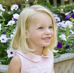 Toddler girl haircut - for when Gracie finally has enough hair!