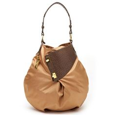 Expandable Bucket Bag Camel now featured on Fab.