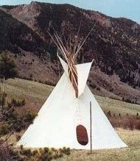 The colorado cheyenne tipi is patterned from authentic for Reliable tipi