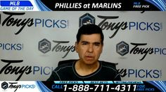 Philadelphia Phillies vs. Miami Marlins Free MLB Baseball Picks and Pred...