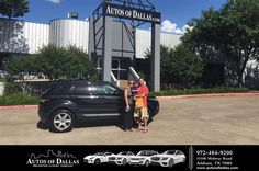 https://flic.kr/p/JeVT48 | Happy Anniversary to Heather on your #Land Rover #Range Rover Evoque from David Mullins at Autos of Dallas! | deliverymaxx.com/DealerReviews.aspx?DealerCode=L575