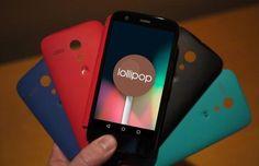 Moto G 1ª e 2ª geração recebem o Android 5.0 Lollipop - http://showmetech.band.uol.com.br/moto-g-1a-e-2a-geracao-recebem-o-android-5-0-lollipop/