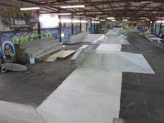 Skate Park, Sidewalk, Interior, Walkway, Indoor, Walkways, Interiors