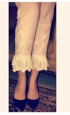 Salwar Designs, Blouse Designs, Fashion Pants, Fashion Outfits, Salwar Pants, Ethenic Wear, Indian Designer Suits, Desi Wear, Pants For Women