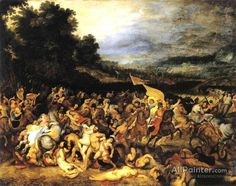 Peter Paul Rubens The Battle Of The Amazons oil painting reproductions for sale