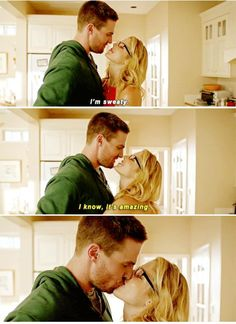 Arrow - Oliver & Felicity #4.1 #Season4 #Olicity