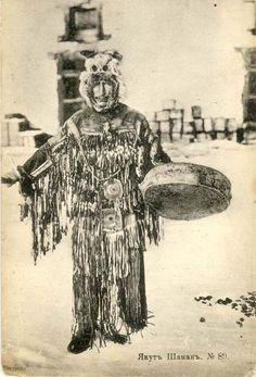 A Yakut shaman. Якутский шаман