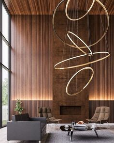 acquire inspired in the same way as these bright ideas for breathing room lighting for homes of all size, color, and style. #livingroomlightinguk, #beautifullivingroomlighting, #livingroomlightingideasb&q