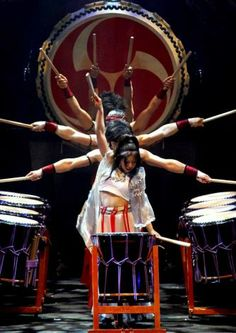 Be prepared to enjoy traditional taiko drumming performances, as well as some innovative music and choreography, when the Japanese drumming ...