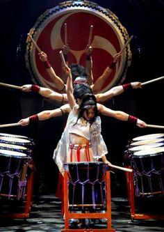 Japanese drum orgasm