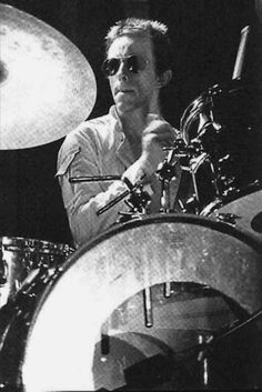Topper Headon drummer of The Clash