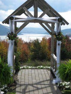Finger Lakes Wedding | Decor