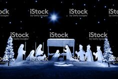 Christmas Nativity - Royalty-free Nativity Scene Stock Photo