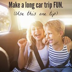 How to make a car trip FUN (even a VERY long one).  One tip!   ad @Audible