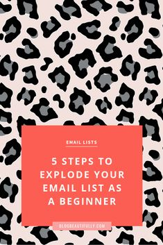 You know you need an email list. but the whole process feels a *little bit* overwhelming. In this post, I break down all the list-building basics and give you 5 simple, concrete steps you can take this week to set your list up for success — ev Email Marketing Strategy, Business Marketing, Business Tips, Online Marketing, Online Business, Content Marketing, Business Planning, Internet Marketing, Digital Marketing