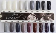 Semilac-Hybrid-Manicure-7ml-Black-amp-White-Grey-FREE-GIFT-Mermaid-Effect ❤️