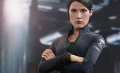 Hot Toys Maria Hill Sixth Scale Figure