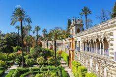 España-Anddalucia-Sevilla-Jardines de los Reales Alcazares
