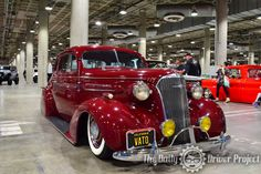 Indoor Goodness at The Classic Auto Show