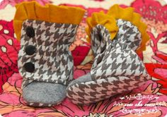 Ruffled Baby Boot Pattern Available! « Sew She Sews's