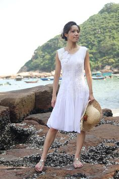 Terrie ~.~ smiling.....: My exclusive model of nuno felt dresses 我的御用模特兒